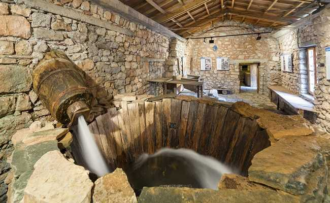 The Open-Air Water Power Museum, in Dimitsana