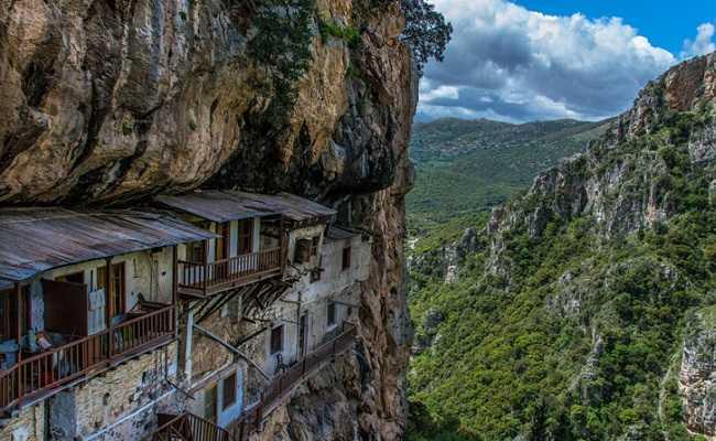The Monasteries of Philosofou and Prodromou in Dimitsana